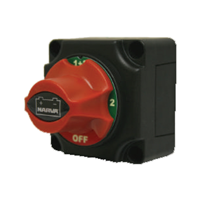 Battery Master Switch With Four Position Rotary Dial