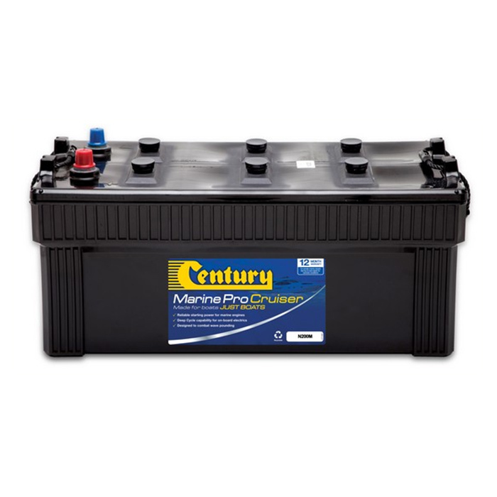 Century Battery Marine Pro N200M Cruiser Battery For Larger Vessels Century Battery