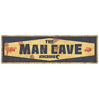 Tin Sign 'Man Cave'