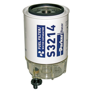 Parker Hannifin Racor B32014 Fuel/Water Separator Filter With Clear Bowl To Suit Johnson/Evinrude