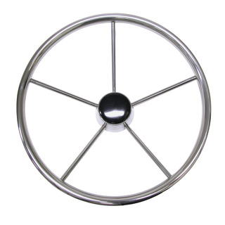 Five Spoke Stainless Steel Steering Wheel