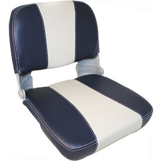Heavy Duty Captain Upholstered Folding Seat