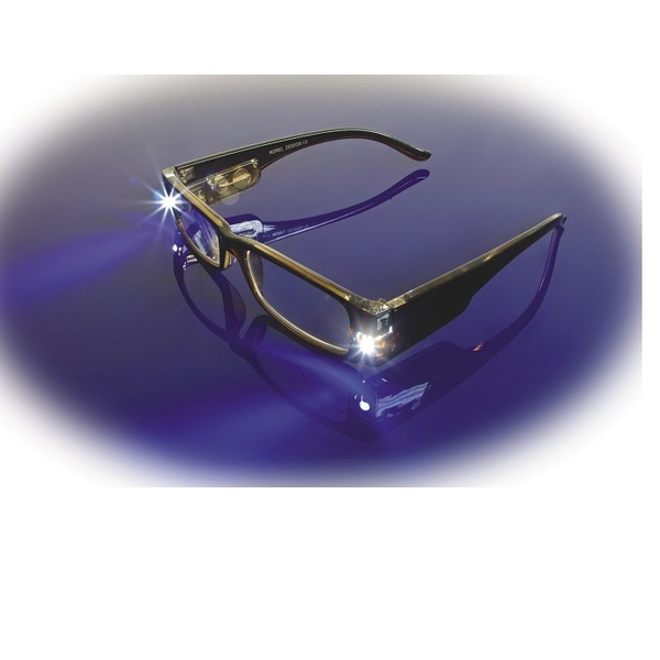 Magna Lite Reading Glasses 1X Magnification With Built-In Lights