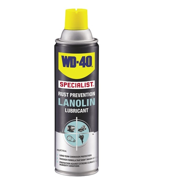 WD-40 Rust Prevention Lanolin Lube