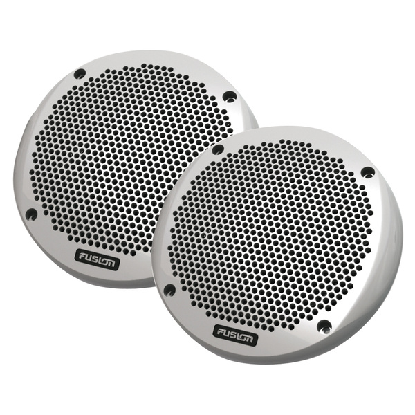 "Fusion EL602 150 Watt 6"" 150 WATT Low Profile Flush Mount Marine Speakers White"