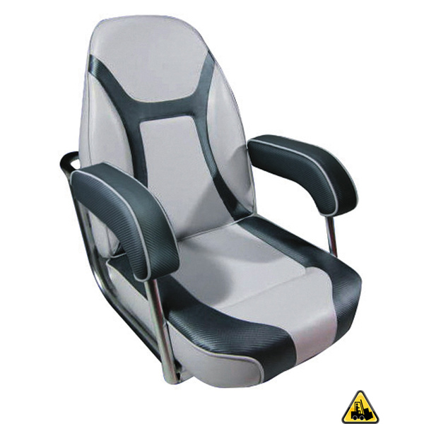 Relaxn Bluewater Premium Seat Dark Grey And Light Grey Upholstery
